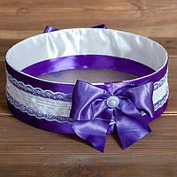 Свадебное сито фиолетового цвета (арт. SP-013)