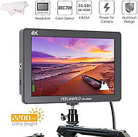"Монитор накамерный FeelWorld 7"" 2200 cd/m² Full HD 3G-SDI/HDMI On-Camera Monitor with 4K Support (P7S)"