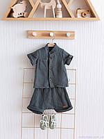 """Дитячий літній одяг серії """"Ned"""", кольору морської хвилі"""