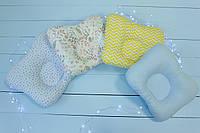 Ортопедична подушка для немовляти , ортопедическая подушка для новорожденных 2300