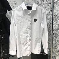Shirt Philipp Plein Platinum Casino White