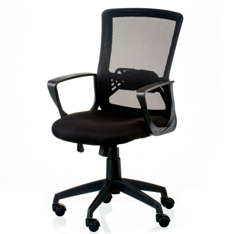 Крісло офісне Special4You Admit black (E5678)