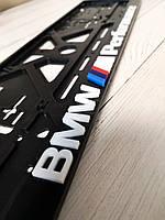 Авторамка с обьемными буквами BMW