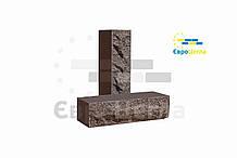 Облицовочный кирпич скала (ложковой) шоколад
