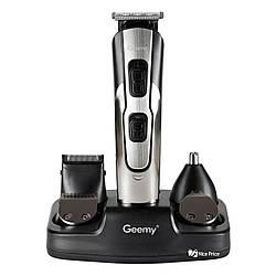 Бритва, машинка для стрижки Geemy GM592 10 в 1 Black (4340)