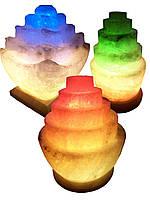 """Соляной светильник """"Пагода круглая"""" 3-4 кг"""