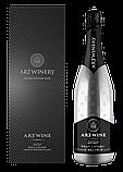ARTWINE біле брют натюр вино ігристе у подарунковому коробі, фото 2