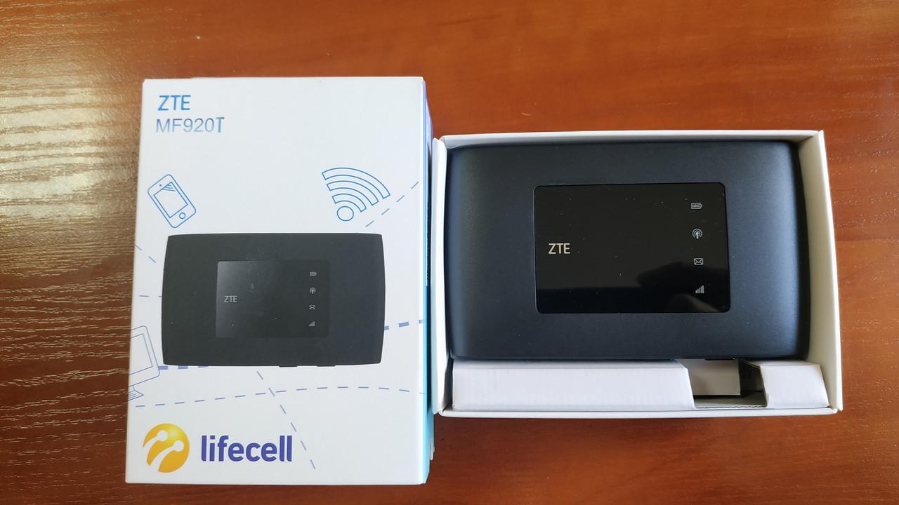 Модем 4G/3G + Wi-Fi роутер ZTE MF920T