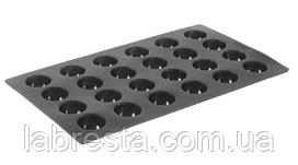 Форма силиконовая Semi-sphere Hendi 676158, 24 ячеек