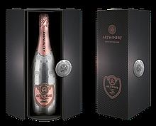 ARTWINE рожеве брют вино ігристе у подарунковому коробі