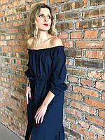 Платье женское лен размер XS-M, фото 1