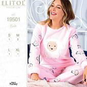 Женские пижамы и халаты Elitol