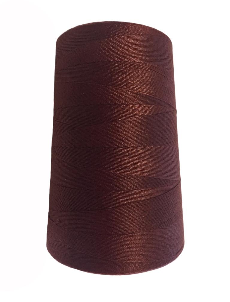 Высокопрочные нитки №20/3 S-097 коричневый  (боб.2000ярдов)