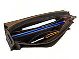 Мужская кожаная сумка для документов А4 GS коричнева, фото 4