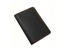 Обкладинка для паспорта GS коричнева шкіряна