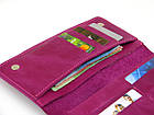 Женский кошелек - клатч GS кожаный розовый, фото 2
