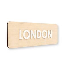 Деревянные таблички под часы