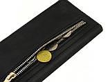 Мужской кошелек - клатч GS кожаный черный, фото 4