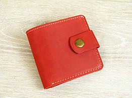 Женский кошелек портмоне GS кожаный красный