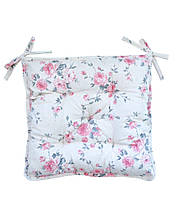 Подушка на стілець табурет Bella Троянди