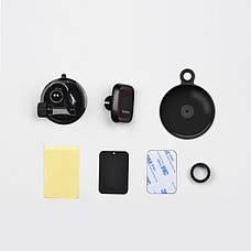 Автотримач для телефону Hoco Happy Journey чорний (CA28), фото 3