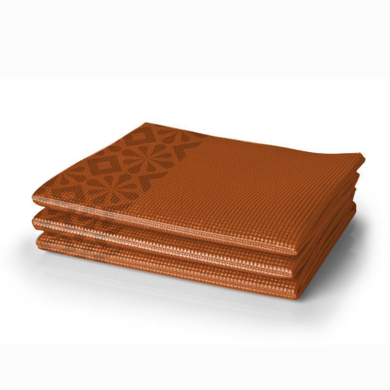 Коврик для йоги складной (оранжевый) Lotus LYIFYM213