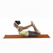 Коврик для йоги складной (оранжевый) Lotus LYIFYM213, фото 2
