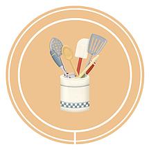 Кухонные и столовые принадлежности