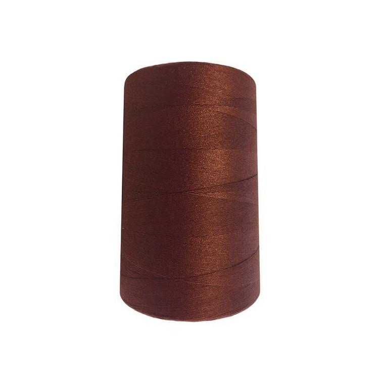 Высокопрочные нитки №20/3 S-236 коричневый (боб.2000ярдов)