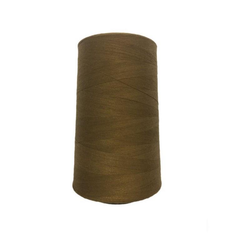 Высокопрочные нитки №20/3 S-241 коричневый светлый (боб.2000ярдов)