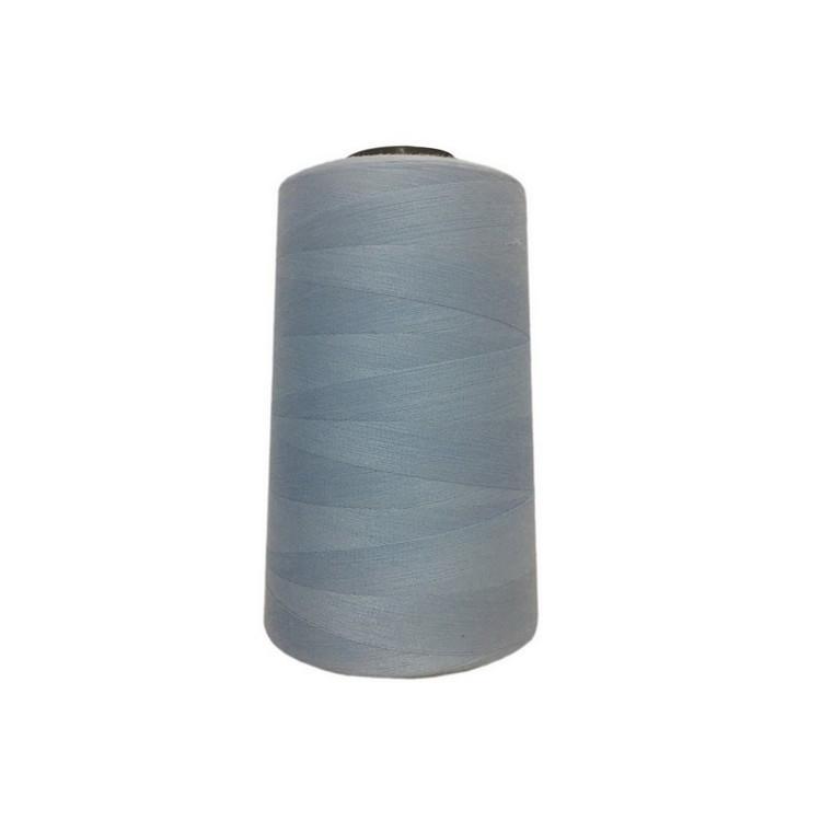 Высокопрочные нитки №20/3 S-351 голубой  светлый (боб.2000ярдов)