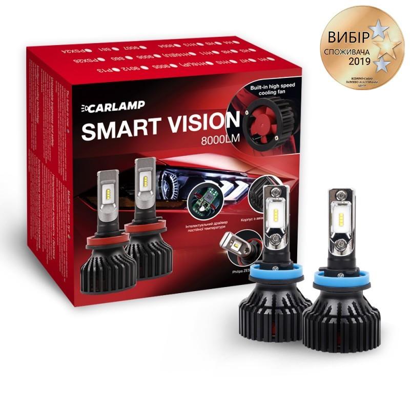 Светодиодные автолампы CARLAMP Smart Vision H11 6500 K (SM11)