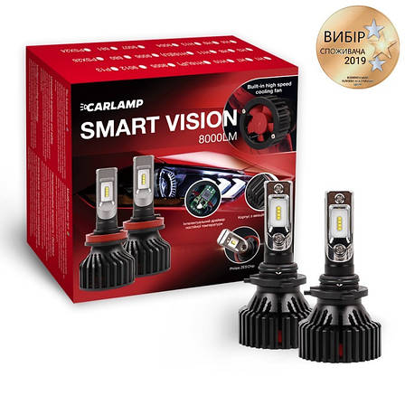 Світлодіодні автолампи CARLAMP Smart Vision HB4 (SM9006), фото 2