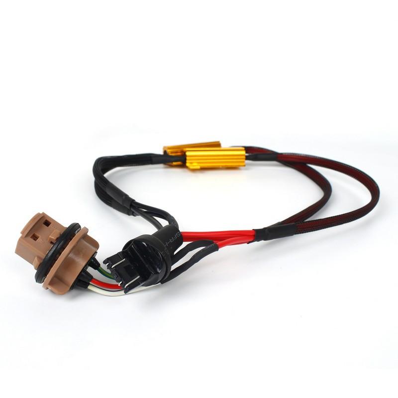 Резистор обманка Carlamp W21/5W (7443) 2шт (RF/7443-50W)