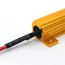 Резистор обманка CARLAMP W5W (T10) (RF/T10-50W), фото 3