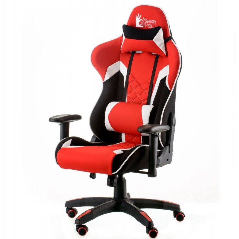 Крісло офісне Special4You ExtremeRace 3 black/red (E5630)