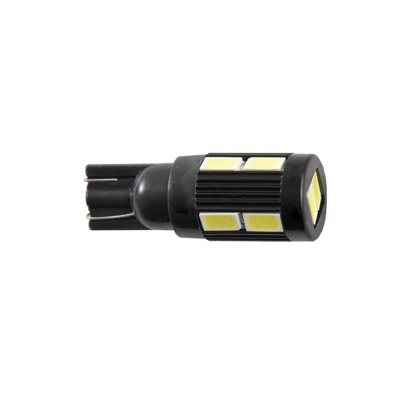 Автолампи світлодіодні Solar 12V T10 W2.1x9.5d 10SMD 5630 white