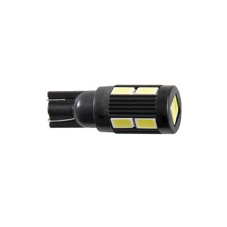 Автолампи світлодіодні Solar 12V T10 W2.1x9.5d 10SMD 5630 white, фото 2