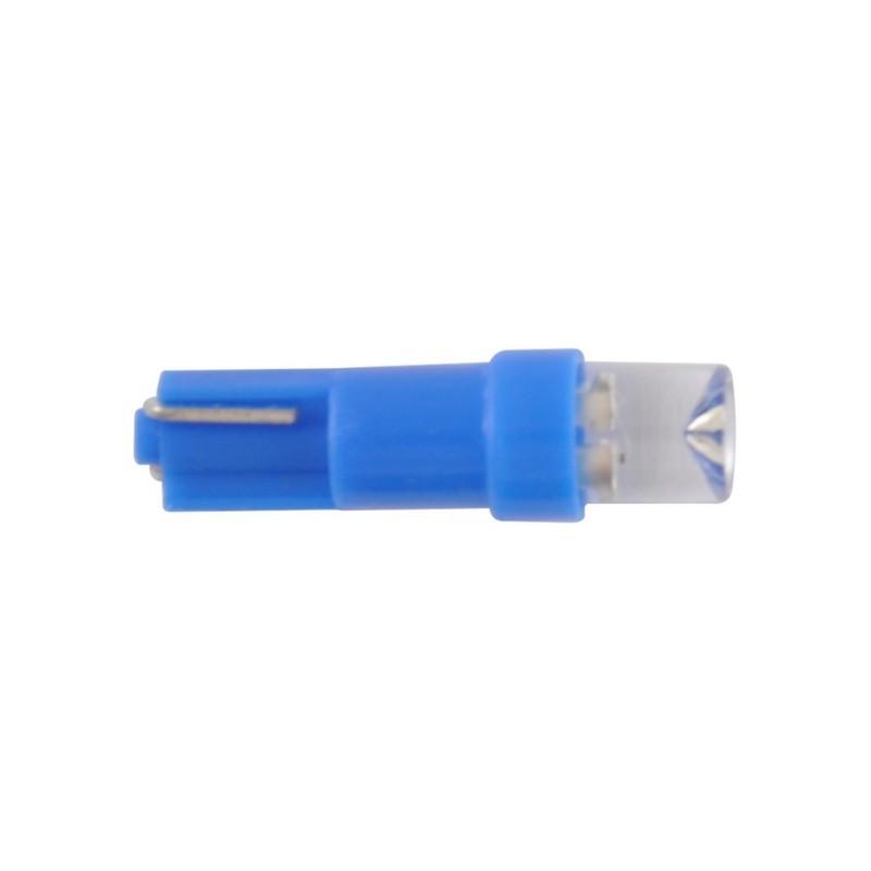 Автолампы светодиодные Solar 12V T5 W2x4.6d 1leds blue (LF102_P)