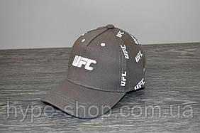Кепка сіра UFC | Відмінний вибір