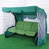 Садовые качели ТАИТИ GreenGard 3 вида подушек