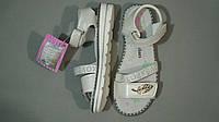Белые босоножки  на липучках  для девочки  размер 31,  33, 35, фото 1