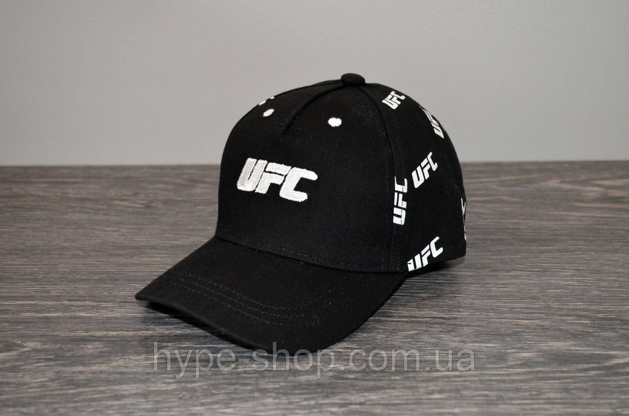 Чорна Кепка UFC | Відмінний вибір