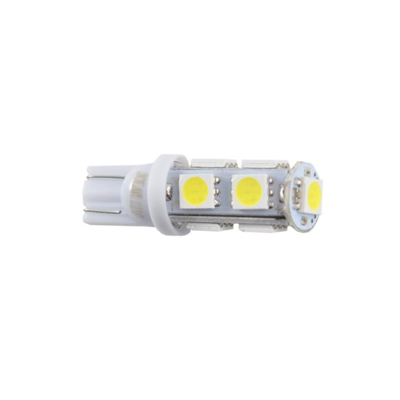 Автолампы светодиодные Solar 12V T10 9SMD 5050, white