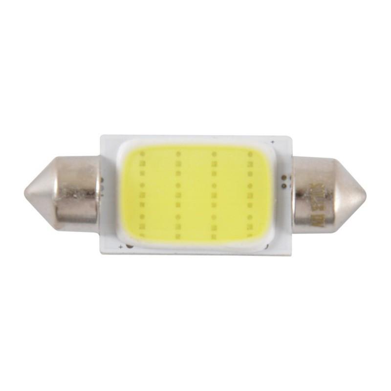 Автолампи світлодіодні Solar 12V SV8.5 T11x39 1COB-8SMD 56LM white
