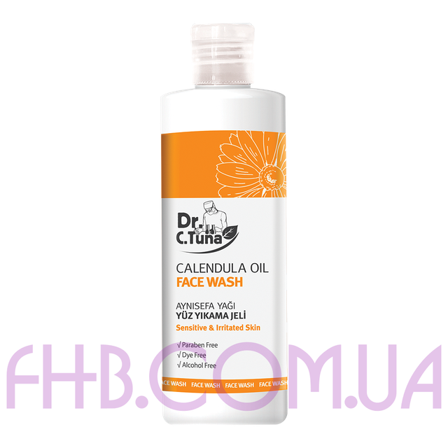 Dr. C. Tuna Calendula Oil Face Wash 225 ml