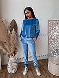 Жіночий ніжний оксамитовий костюм(в кольорах), фото 7
