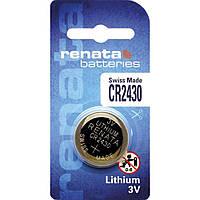 Батарейка дисковая Renata CR2430 Lithium, 3V