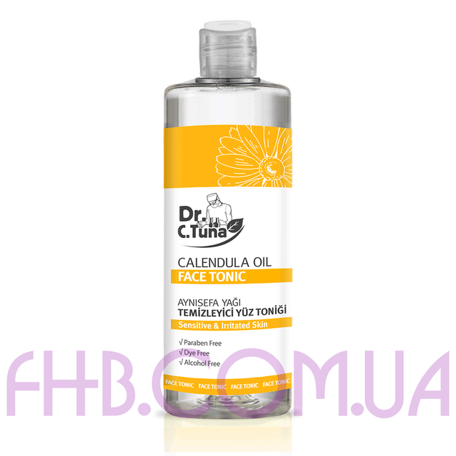 Dr. C. Tuna Calendula Oil Face Tonic 225 ml