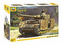 "Сборная модель ""Немецкий средний танк Panzer IV Ausf.H (Т-IV H)"" (масштаб: 1/72) Zvezda (5017)"